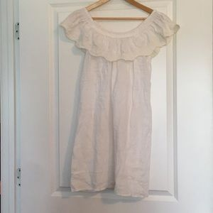 Dresses & Skirts - Crochet detail dress size S/M